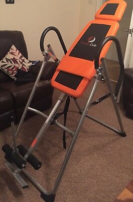 Foldable Premium Inversion Table Back Therapy Fitness Reflexology