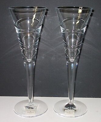 Waterford Aura Champagne Flute (Pair) Designed by Jasper Conran