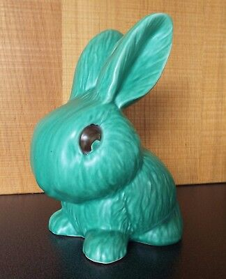 SylvaC 1930's pottery Rabbit with original label
