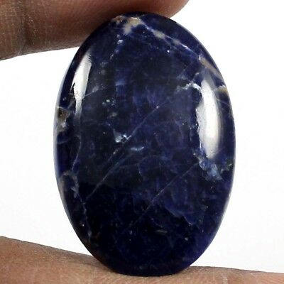 24.10 cts 100% Natural Elegant Sodalite Oval Loose Gemstone Cabochon For Jewelry