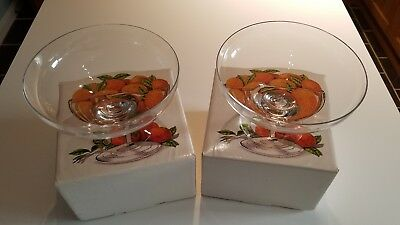Comport by Dartington Crystal Glass Bowls FT316