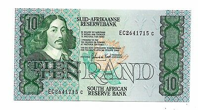 South Africa (P20d) 10 Rand 1985 UNC