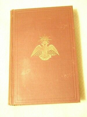 1944 Morals And Dogma, Ancient And Accepted Scottish Rite,  So. Jurisdiction