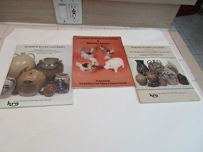 Stoneware / Pottery Auction Catalogs, Harmer Rooke Galleries + Southern Folk