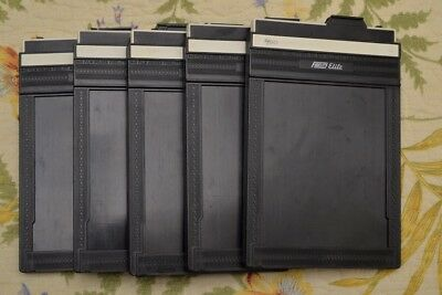 Five (5) Riteway Film Holders 4 x 5