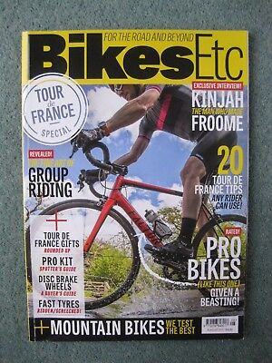 Bikes Etc cycling magazine August 2017 Issue 35
