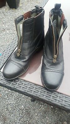 ariat jodphur horse riding boots size 4