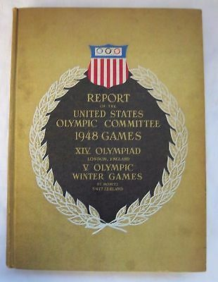 Original and Official Report   XIV.Olympic Games LONDON 1948  !!  EXTREM RARITY