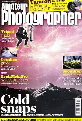 Amateur Photographer magazine with Olympus Pen-F  first look   6th Febuary 2016