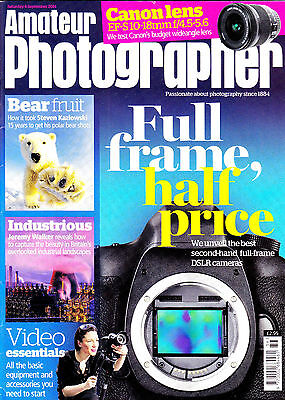 Amateur Photographer magazine  with Canon EF-S 10-18mm tested  September   2014