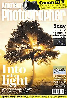 Amateur Photographer magazine with Canon G3 X & Sony RX100 IV  15th August  2015