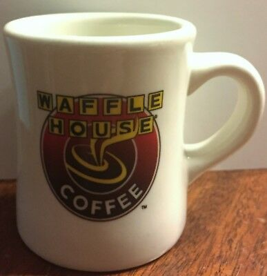 WAFFLE HOUSE Diner Heavy Duty Coffee Mug Cup Tuxton ~ Diner Style