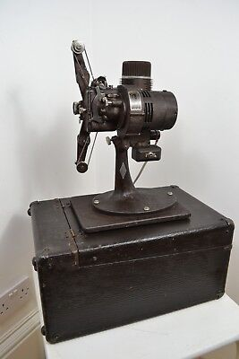 1930s ART DECO FILMO BELL & HOWELL CO CHICAGO 8mm 7.5 PROJECTOR 57 ST IN BOX