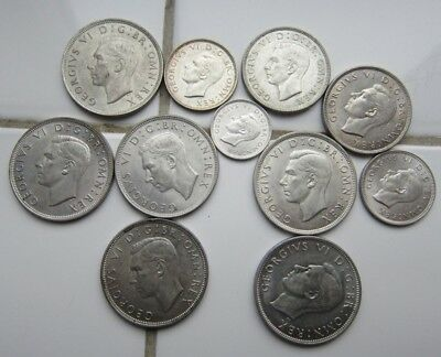 Gb Lots Of Silver Coins All Unc