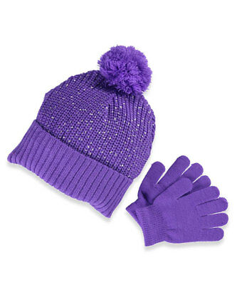 Chatties Girls' Beanie & Gloves Set (Youth One Size)