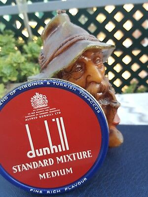 Vintage Dunhill  Tobacco Tin Standard Mixture Full