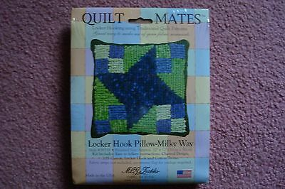 Locker Hook Pillow Kit Hooking Select Pattern  MILKY WAY