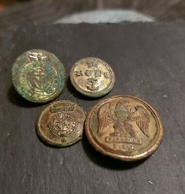 early military buttons