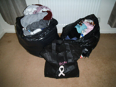 100+ Huge joblot mainly ladies clothes size 8 -18, most are all good condition.