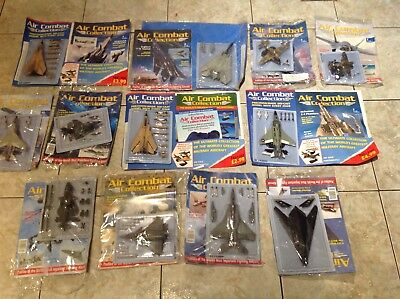 air combat collection magazine and planes Military Collectable