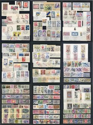 Czechoslovakia Used on piece, MM etc. Mixed lot of oddments.