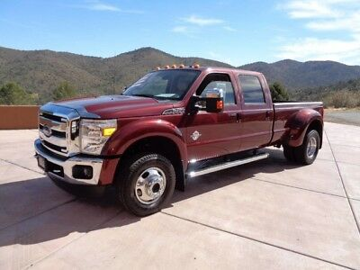 2012 Ford F-450  ABSOLUTELY MINT 2012 LARIAT F450 CREW CAB DIESEL 4WD WITH ONLY 22K MILES!!