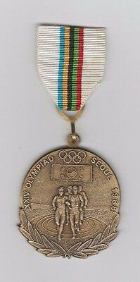 Orig.remembrance medal  Olympic Games SEOUL (South Korea) 1988  !!  EXTREM RARE