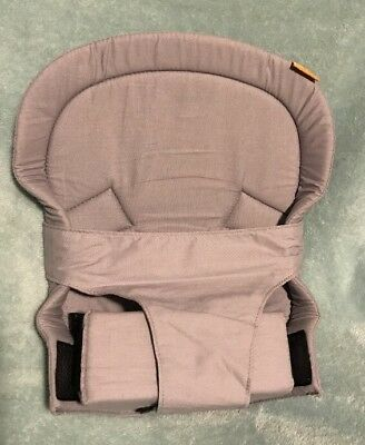 Gray TULA infant baby carrier insert. ONLY THE INSERT.
