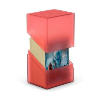 Deck Box Ultimate Guard Boulder Standard - Ruby (80)