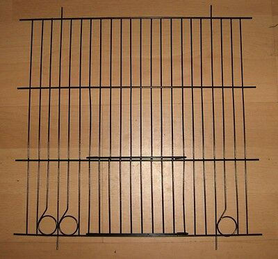 """2 x BLACK CANARY CAGE FRONTS 12"""" x 12"""""""