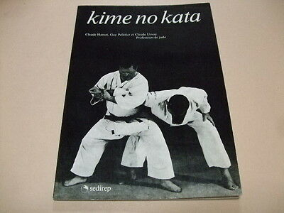 Kime No Kata Rare Judo Book Written In French Successive Pics Included