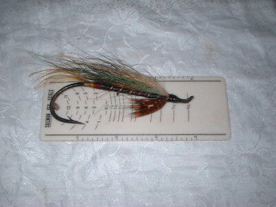 Very Large Vintage Salmon Fly 10/0