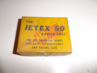 Rare Jetex 50 Jet Power Unit Boxed With Instructions For Jet Propelled Models