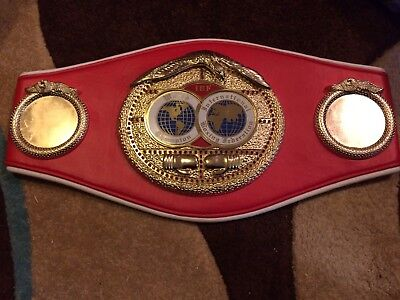 IBF Replica World Title Belt. Boxing Memorabilia
