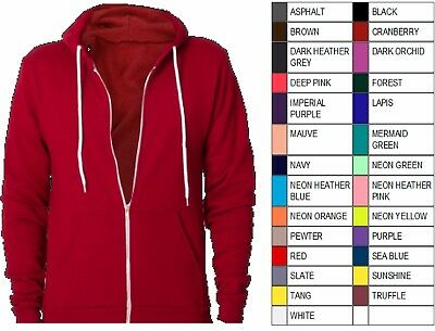 Best Price!!!! NOS MADE IN USA  NEW American Apparel Zipped Hoodie F497