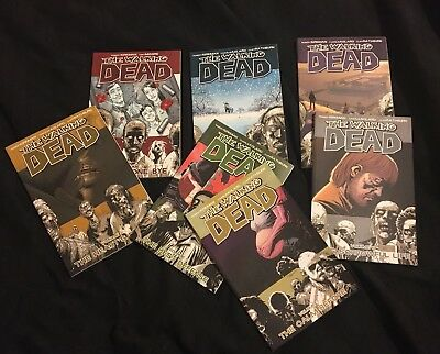 The Walking Dead Volumes 1 to 7