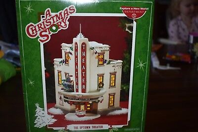 DEPARTMENT 56 A CHRISTMAS STORY THE UPTOWN THEATER No spire *RETIRED!