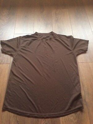 Air Cadet Brown Breathable Lightweight Top, Size 112/Large