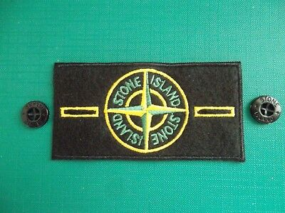 Stone Island Badge/patch Plus 2 Buttons