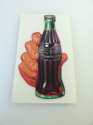 Coca Cola  Decal Soda Hand Sticker 14""
