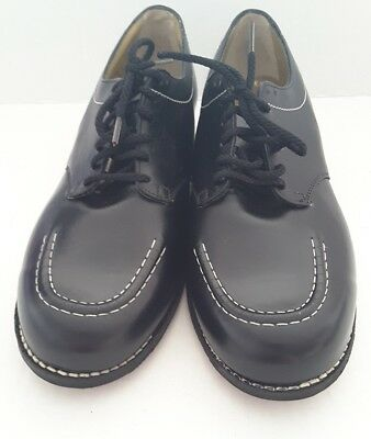 Drew Shoes Rover Women's Black Leather Casual Lace Up Shoes Size 9 B