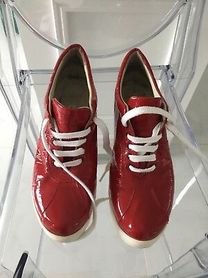 Kmb Red Patent Shoe Size 39