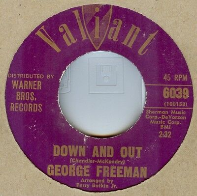 George Freeman***down And Out***soul***dancer***listen To It