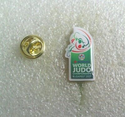 Judo World Championships-Budapest 2017 Official pin