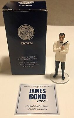 Jame Bond Corgi Sean Connery Limited Edition Figure Rare