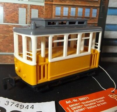 GNOMY tram trailer -great for 7 mm narrow gauge coaches- ref On30 304