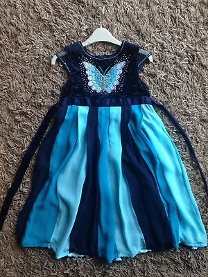 Girls Party Dress By Monsoon Age 6-7