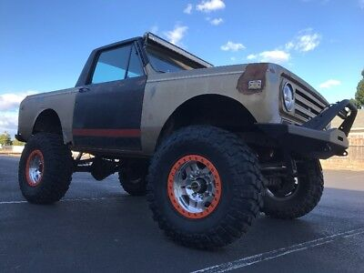 1972 International Harvester Scout  1972 International Scout II