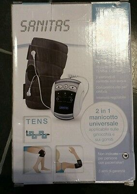 Sanitas SEM 50 Tens Device Knee / Elbow  pain relief with Universal Cuff NEW