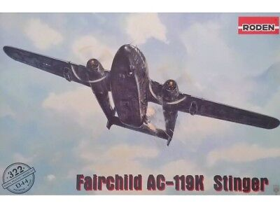 RODEN 322 Fairchild AC-119K Stinger in 1:144